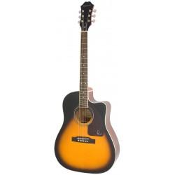 Guitarra Acustica EPIPHONE AJ-220SCE Vintage Sunburst Foto: \192