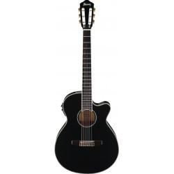 Guitarra Clasica IBANEZ AEG10NII-BK Foto: \192