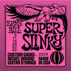Cuerdas Electrica ERNIE BALL Nickel Wound Super Slinky 2223 (9-42) Foto: \192