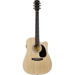 Guitarra Acustica SQUIER SA-105CE Natural Foto: \192