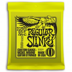 Cuerdas Electrica ERNIE BALL Nickel Wound Regular Slinky 2221 (10-46) Foto: \192