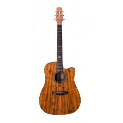 Guitarra Acústica TAKAMINE EF17C Natural Gloss Koa Foto: \192