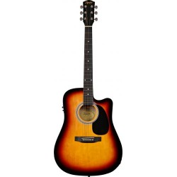 Guitarra Acustica SQUIER SA-105CE Sunburst Foto: \192