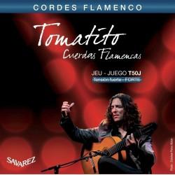 Cuerdas Flamenco SAVAREZ Tomatito T50J Tension Fuerte Foto: \192