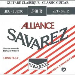 Cuerdas Clasica SAVAREZ Alliance 540-R Tension Normal Foto: \192