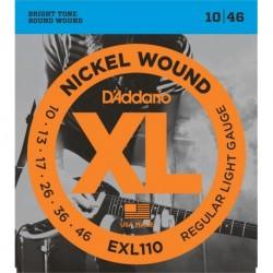 Cuerdas Electrica D´ADDARIO EXL110 - XL Regular Light (10-46) Foto: \192
