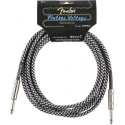 Cable FENDER Vintage Voltage Gray Tweed Jack-Jack 3m Foto: \192