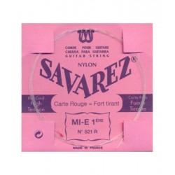 Cuerda Clasica SAVAREZ Carta Roja 1ª 521-R Foto: \192