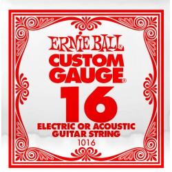Cuerda Electrica ERNIE BALL Slinky Plana 016 Foto: \192
