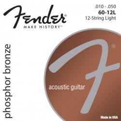 Cuerdas Acustica FENDER Phosphor Bronze 60-12L (10-48) Foto: \192