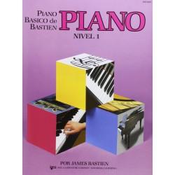 BASTIEN - Piano basico de Bastien, Nivel 1 Piano - Ed. Kjos (1991) Foto: \192