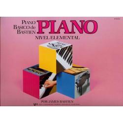 BASTIEN - Piano basico de Bastien, Nivel Elemental Piano - Ed. Kjos (1985) Foto: \192