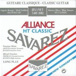 Cuerdas Clasica SAVAREZ Alliance 540-ARJ Tension Mixta Foto: \192