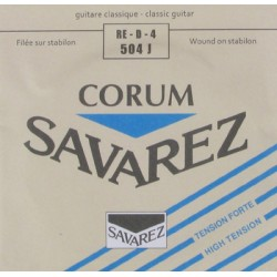 Cuerda Clasica SAVAREZ Corum 4ª 504J High Tension Foto: \192