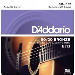 Cuerdas Acustica D´ADDARIO EJ-13 Bronze (11-52) Foto: \192