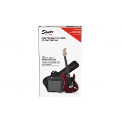 Pack Guitarra Electrica SQUIER Affinity Strato HSS Candy Apple Red + Frontman 15G Foto: \192